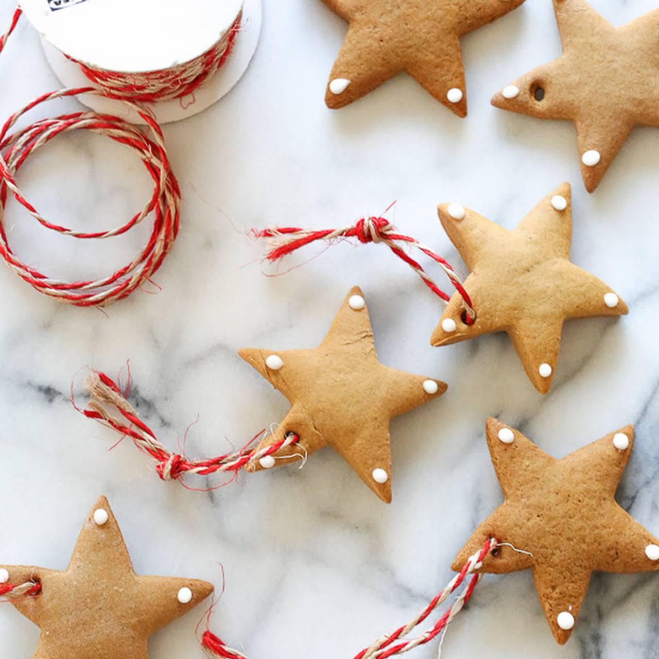 DIY Gingerbread Tree Ornaments