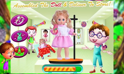 Doll Factory u2013 Cute Toy Making & Builder Games Sim 1.0 3