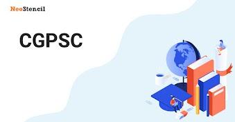 CGPSC 2020 - Chhattisgarh Public Service Commission
