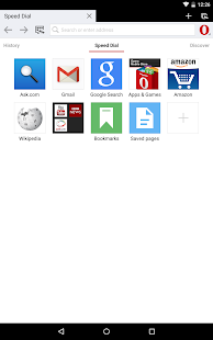 Opera browser for Android beta - screenshot thumbnail