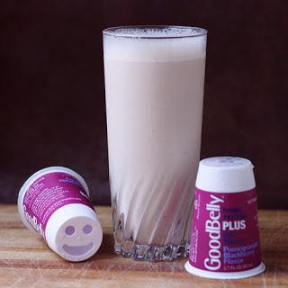 A Smoothie and Ice Cream with probiotics.