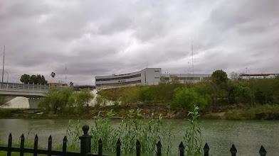 Photo: View toward Mexico from park, Laredo