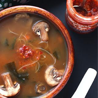 Vegetable Miso Soup.
