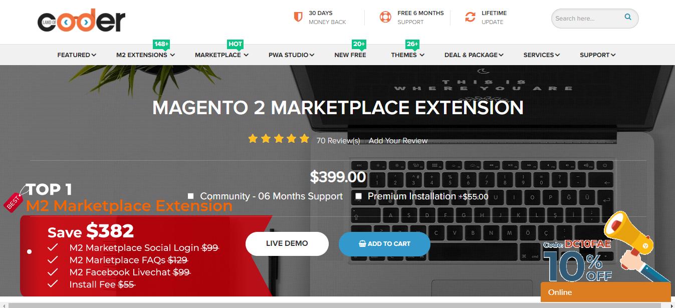 Magento 2 extension