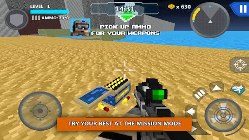 Cube Wars Battle Survival screenshots 4