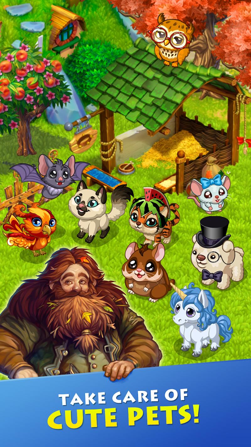Farmdale - farm village simulator Screenshot 2