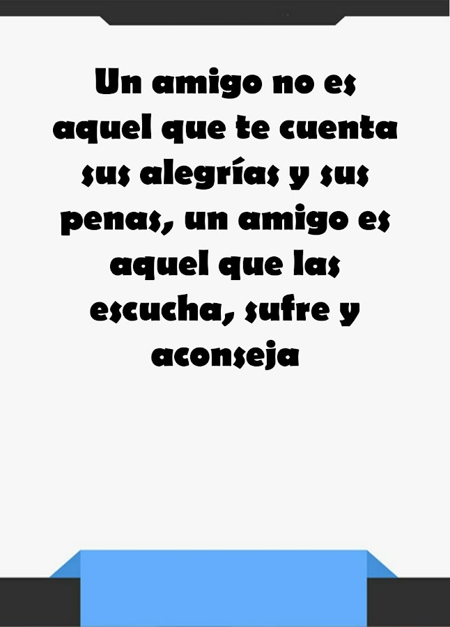 Quotes In Spanish About Friendship Inspiration Friendship Quotes In Spanish  Android Apps On Google Play