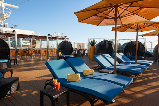 Wanna get away? When it's time for some peace of mind, head to the Serenity Adult-Only Retreat on Carnival Panorama.