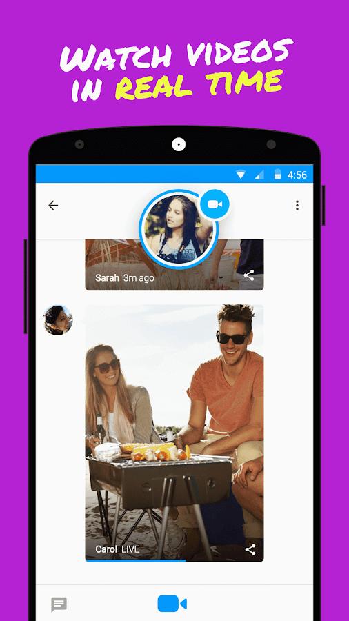 Glide - Live Video Messaging - screenshot