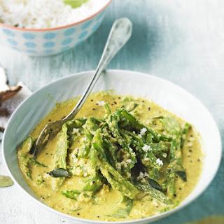 Keralan Runner Bean Curry.