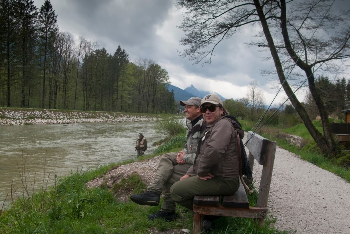 Отново в Австрия - река Ишлър Ахе