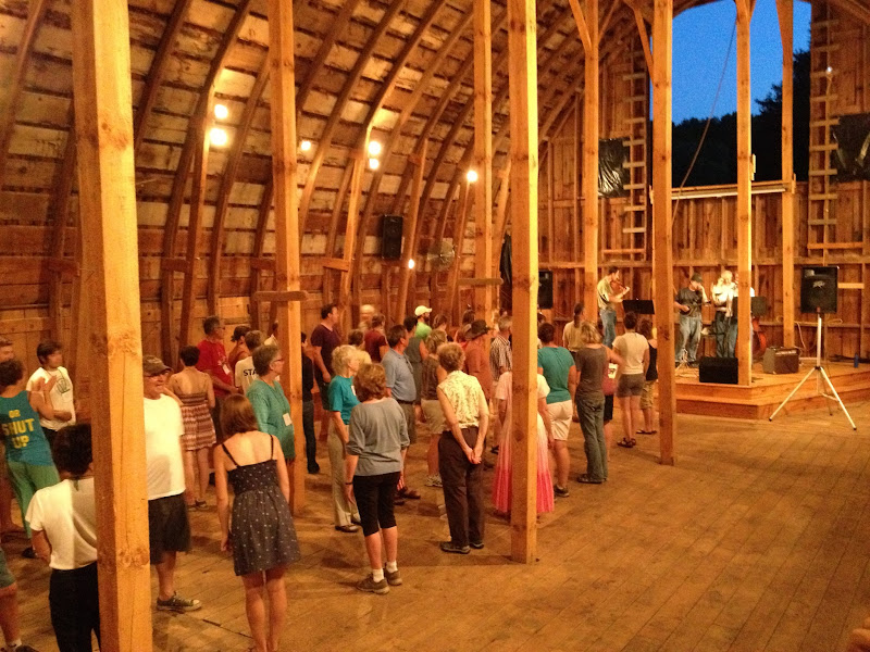 Photo: Getting ready to barn dance!