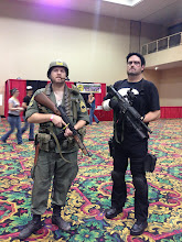 Photo: Sgt. Rock and The Punisher.