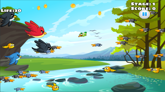 Bird Mission - náhled