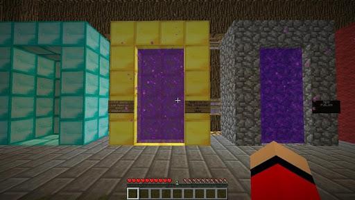 Portal Teletransport Minecraft