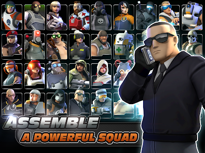 Alpha Squad 5: RPG & PvP Online Battle Arena Screenshot