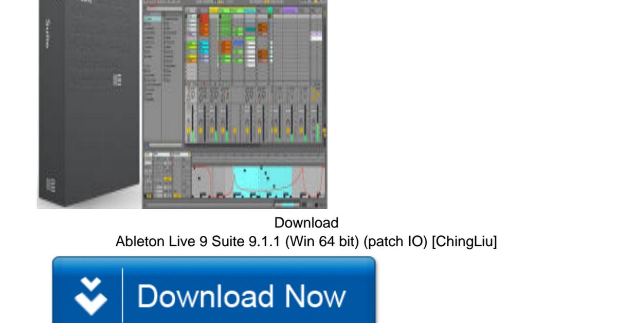 ableton live 9 64 bit download