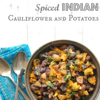 Spiced Indian Cauliflower and Potatoes {Aloo Gobi} Recipe