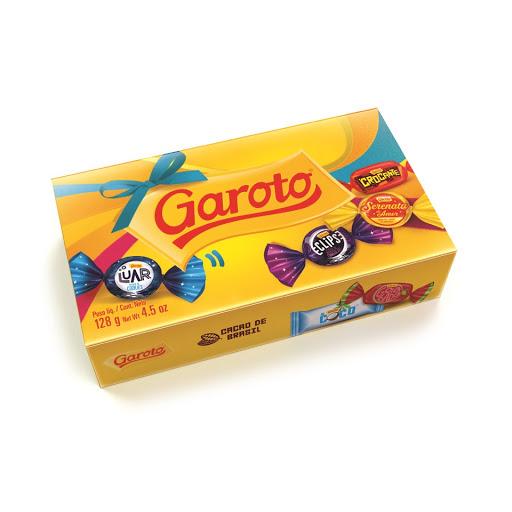 chocolate garoto mix 128 gr