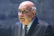 The last apartheid President FW De Klerk. The writer says we can't be obsessing with debating an individual when we have so many problems as a country.