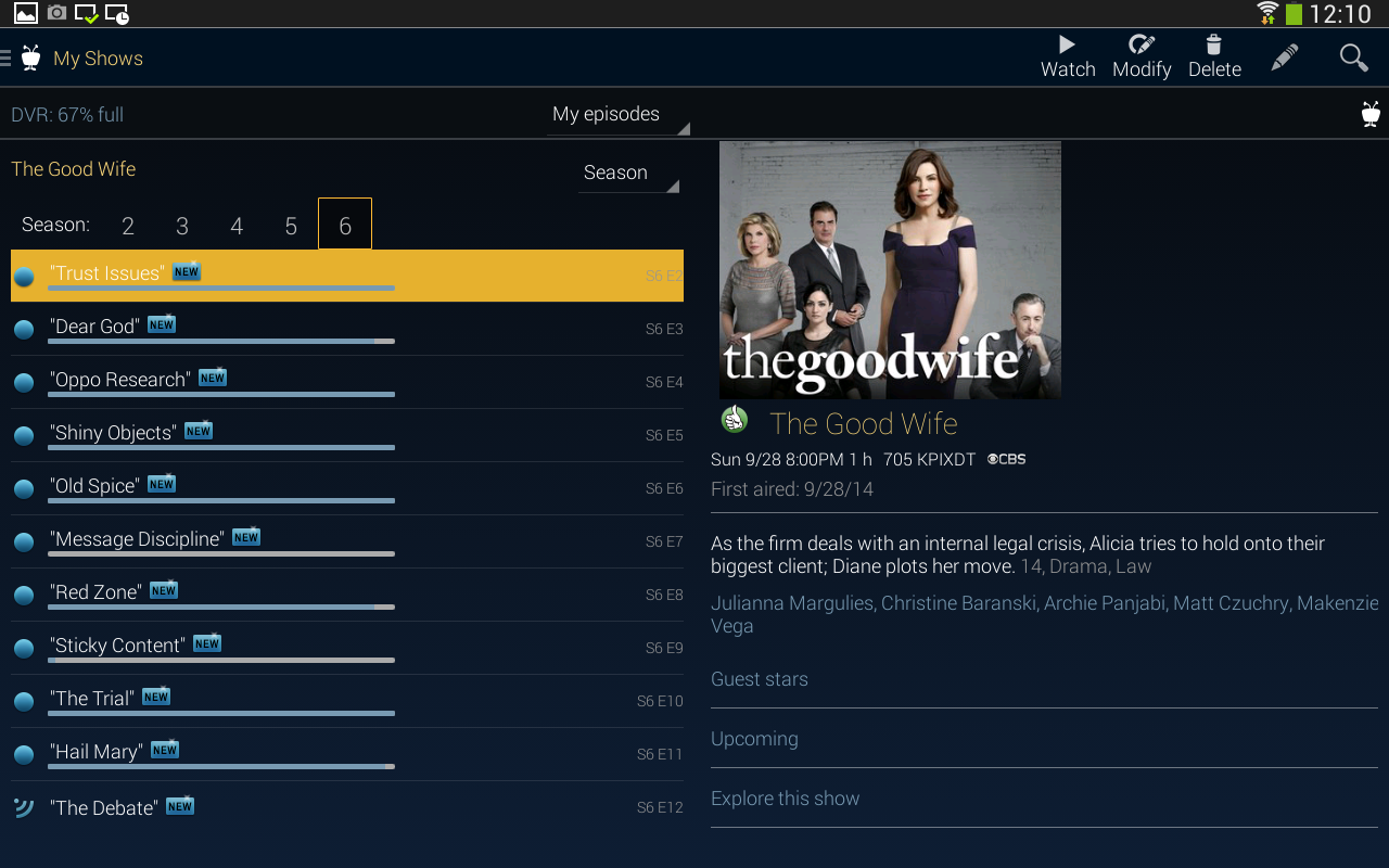 TiVo- screenshot