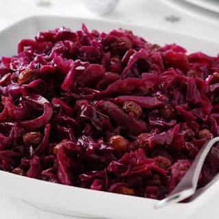 Braised Red Cabbage With Apples And Sherry Vinegar.