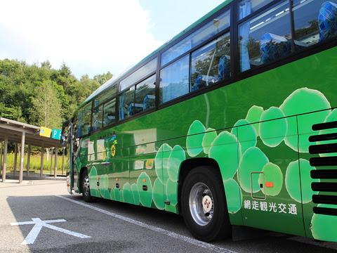 網走観光交通「まりも急行札幌号」 ・369 キウスパーキングエリアにて その3