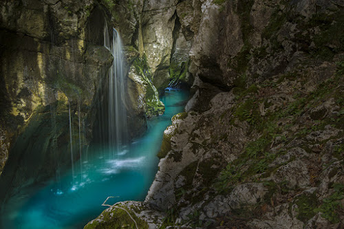 Soca river, Bovec valley, Slovenia, Europe by Klempa None - Nature Up Close Water
