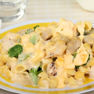 Old-Fashioned Chicken Broccoli Macaroni