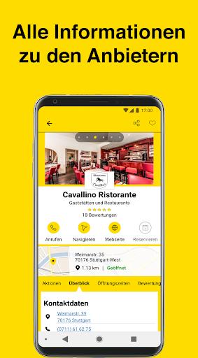 Gelbe Seiten - Auskunft und mobiles Branchenbuch 6.16-0381813b0 screenshots 4