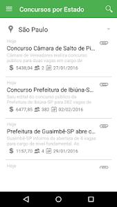 Concursos Mobile 2 screenshot 7