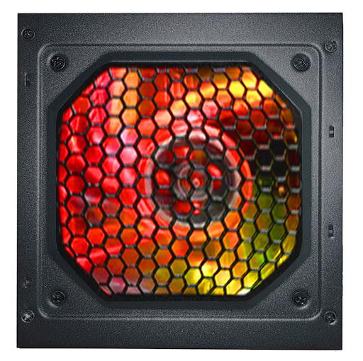 Nguồn/ Power Jetek 500W M500-Led RGB 80 Plus