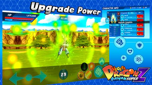 Vegeta Dragon Saiyan Super Z 1.1.0 screenshots 6
