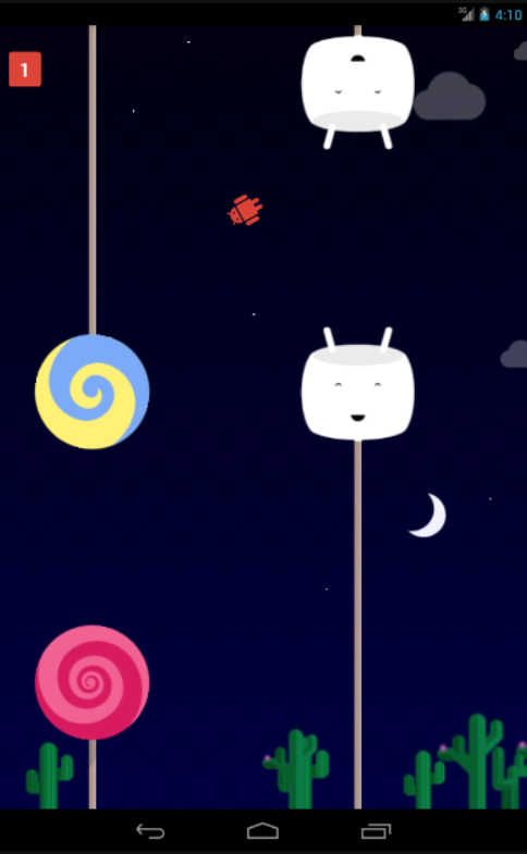Nougat Land- screenshot