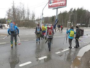 Photo: Переход Рижского шоссе около Аникеевки