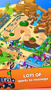 Sports City Tycoon MOD APK [Unlimited Money] Idle Sports Games Simulator 1.5.0 7