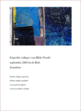 Photo: KIJK KUNST - Hilde Wenst (collages) - F. Huyckstraat 17, Zaandam