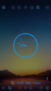ClockView - Always On ClockㆍTalking ClockㆍWidget Screenshot
