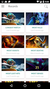 Statistics For Dota 2 & Live Games- screenshot thumbnail