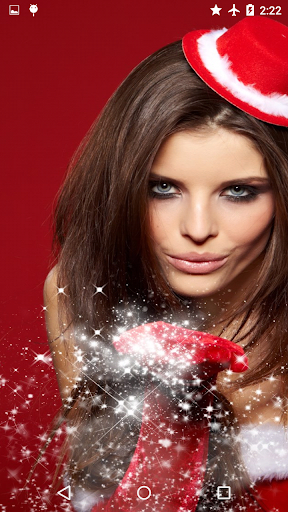 ... Hot Christmas Girls Wallpaper screenshot 5 ...