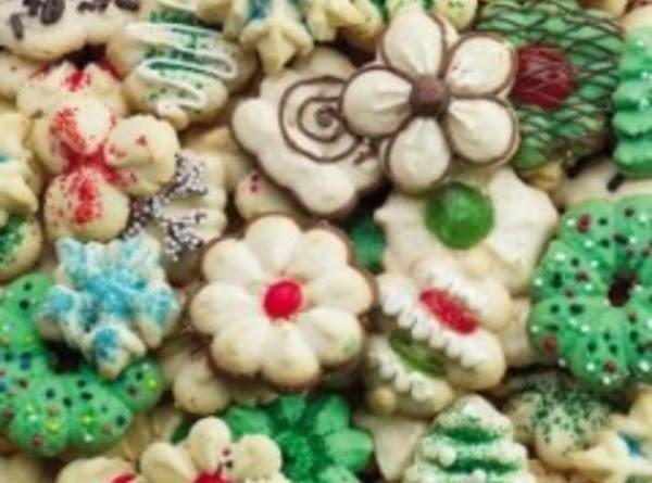 Classic Spritz Cookies (wilton) Recipe