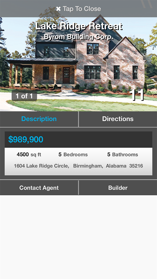 Birmingham Parade of Homes- screenshot