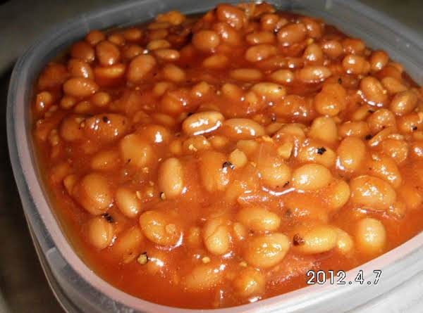 Baked Beans-low Fat, Low Sodium