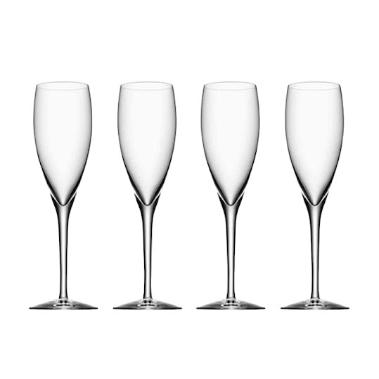 Orrefors - More Champagne glas 4-pack