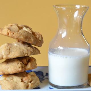 White Toblerone Macadamia Cookies Recipe