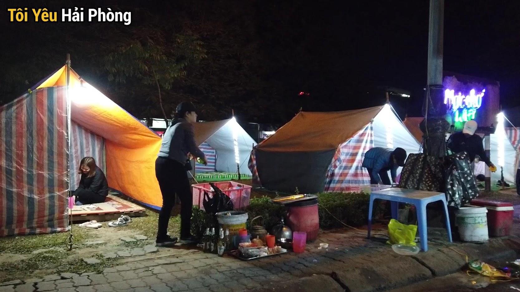 Ăn mực đêm ở Hồ Đào tại Hải Phòng 4