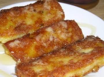 Moms fried left over Cream of Wheat