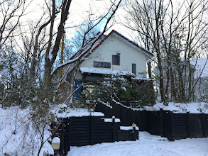 Photo: 【メルヘンの家】の雪景色