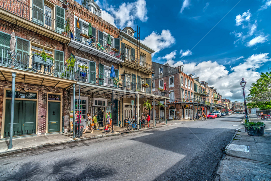 French Quarter by Sheldon Anderson - Buildings & Architecture Architectural Detail ( new orleans, french qtr, march, 2015, morning )