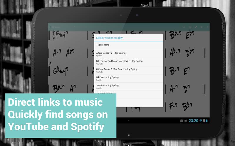 Fakebook Pro: Real Book and PDF Sheet Music Reader Screenshot 9
